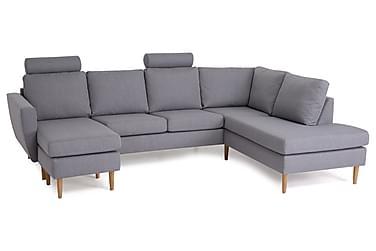 Nordic U-sofa med Divan Venstre