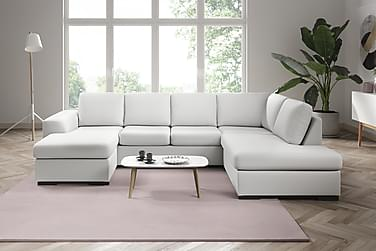 Ocean U-sofa Large med Divan Venstre Kunstlær