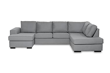 Ocean U-sofa Large med Divan Venstre