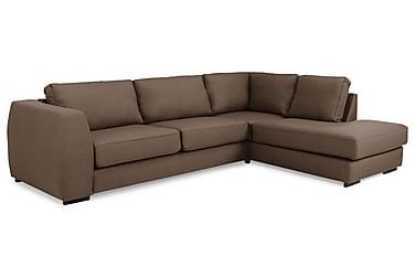 Optus 3-seters Sofa med Sjeselong Høyre
