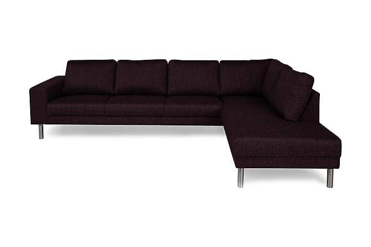 Runsala Sofa Large med Sjeselong Høyre - Lilla - Møbler - Sofaer - Sofaer med sjeselong & U-sofaer