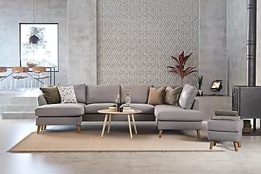 Trend U-sofa med Divan Venstre