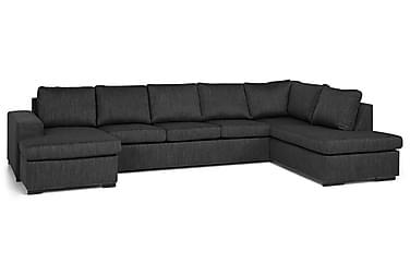 Wash U-sofa med Divan Venstre