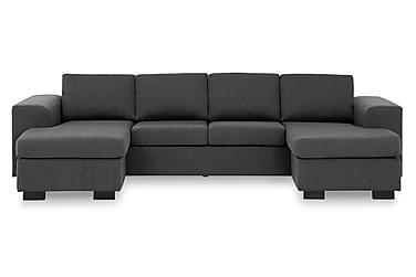 Webster U-sofa med Dobbeldivan
