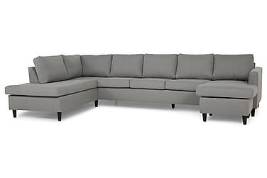 Zero U-sofa Large med Divan Høyre