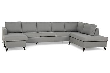 Zero U-sofa Large med Divan Venstre