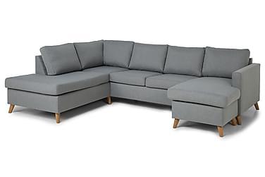 Zero U-sofa med Divan Høyre