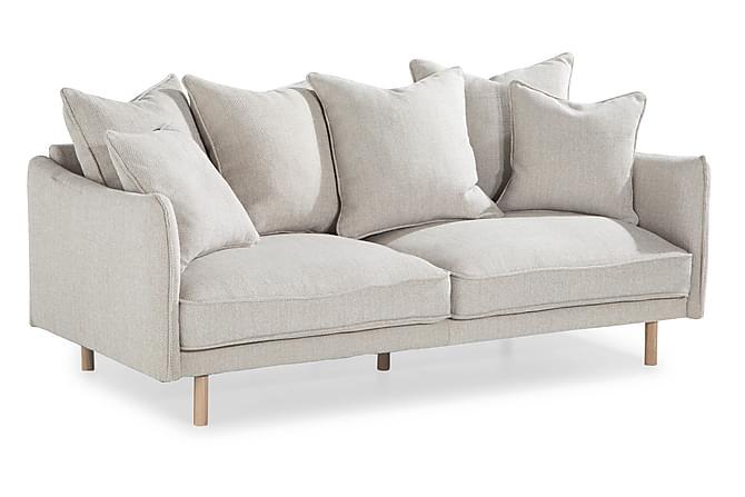 Haide Sofagruppe 2,5 seter+3 seter+Lenestol - Grå - Møbler - Sofaer - Sofagrupper