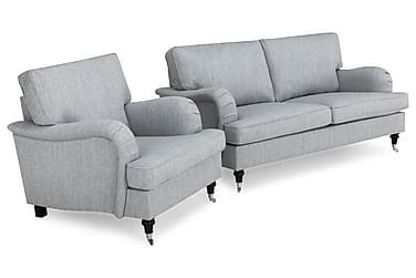 Howard Classic Sofagruppe 3-seter+Lenestol