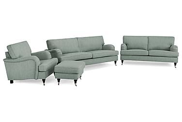 Howard Classic Sofagruppe 3,5+3-seter+Lenestol+Fotskammel