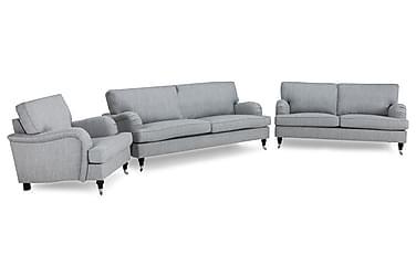 Howard Classic Sofagruppe 3,5-seter+3-seter+Lenestol