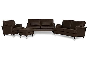 Howard Classic Sofagruppe 3,5-seter+Lenestol+Fotskammel Fløy