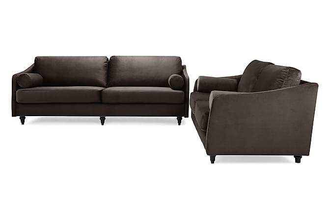 Mirage Sofagruppe 3-seter+2-seters Sofa - Muldvarp Fløyel - Møbler - Sofaer - Sofagrupper