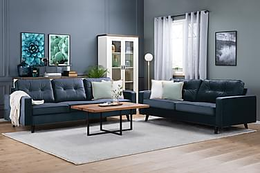 Monroe Sofagruppe 3-seter+2,5-seter Fløyel