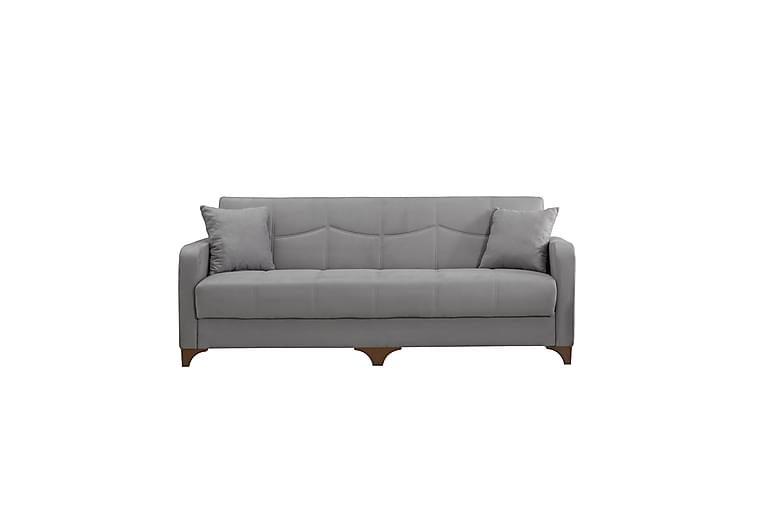 Nello 3-seters Sofa+Lenestol - Grå - Møbler - Sofaer - Sofagrupper