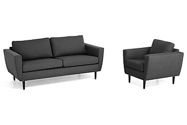 Nordic Sofagruppe 3-seter+Lenestol