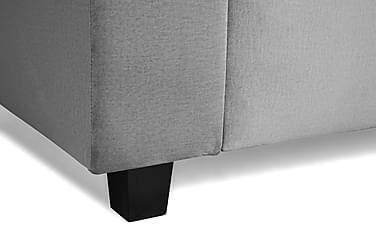 Koniske Svarte Sofaben 8 cm
