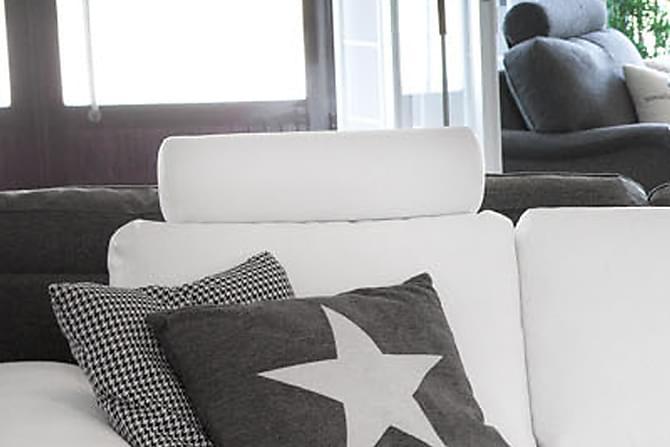 Fantastisk Nakkestøtte til Sofa - Hvit PU | Trademax.no DT97