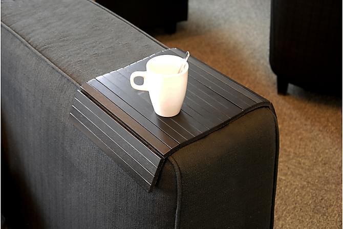 Row Brettbord til Armlene - Svart - Møbler - Sofaer - Sofatilbehør