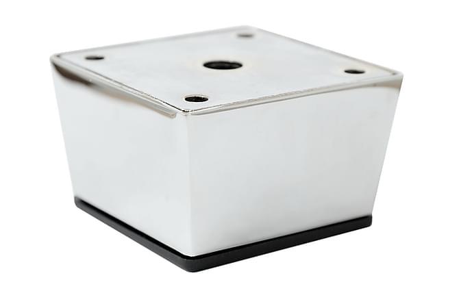 Sofaben Modell E 5 cm 4-Pack - Krom - Møbler - Sofaer - Sofatilbehør