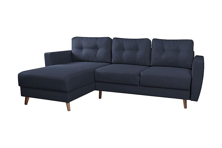 Junkerdal Hjørnesofa - Mørkeblå - Møbler - Sofaer - Hjørnesofaer