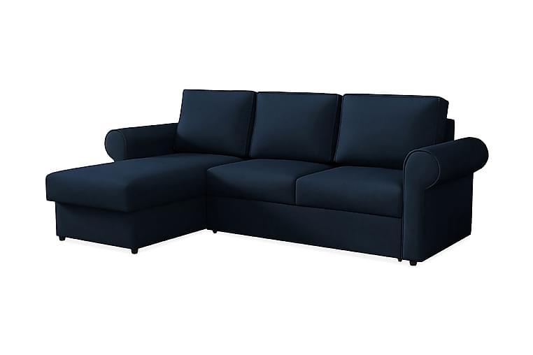 Monaco Hjørnesofa - Mørkeblå - Møbler - Sofaer - Sovesofaer