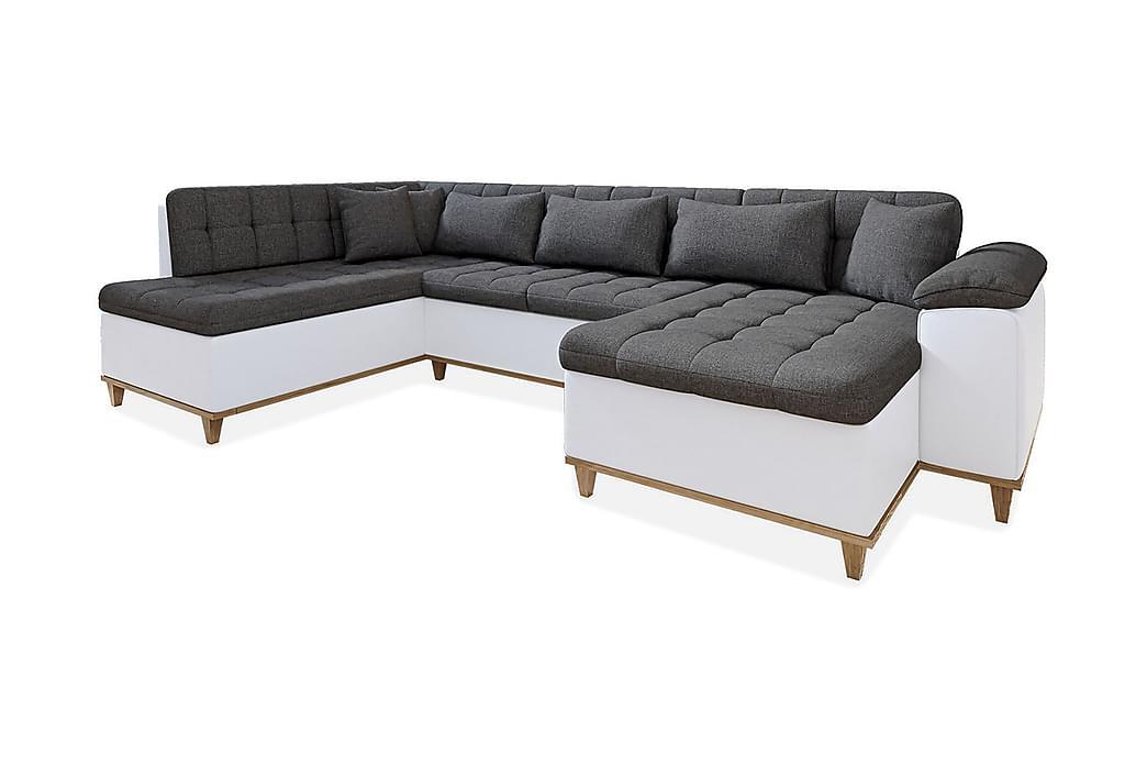 Nikos U-Sovesofa 350x205x85 cm - Møbler - Sofaer - Sovesofaer