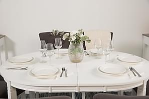 Fasjonable Oval spisegruppe – Kjøp billig på nettet fra Trademax YU-17