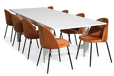 Altea Spisegruppe Forlengningsbartt med 8 Felipe  Fløyel
