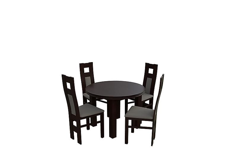Bandö Spisegruppe - Valnøtt - Møbler - Spisegrupper - Rektangulær spisegruppe