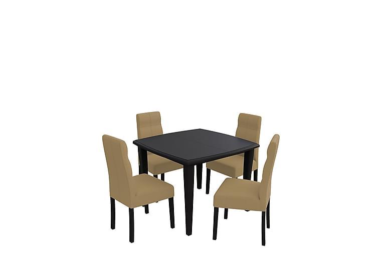 Bodom Spisegruppe - Beige - Møbler - Spisegrupper - Rektangulær spisegruppe