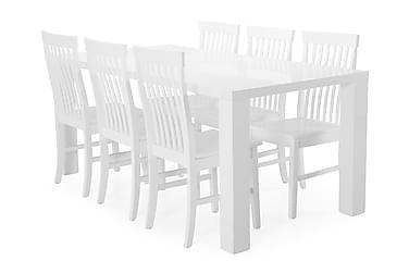 Cibus Spisebord med 6 Augusta stoler