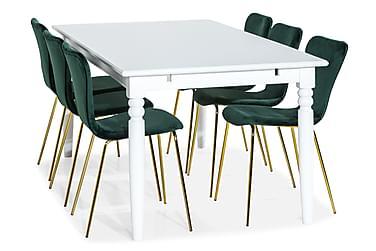 Hampton Spisegruppe 190 cm med 6 Perco Stol