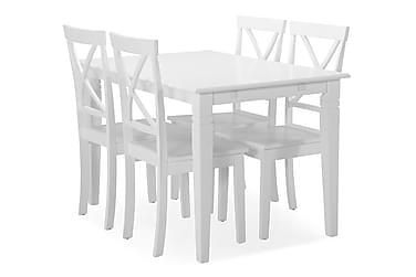 Hartford Spisebord med 4 Mirimar stoler