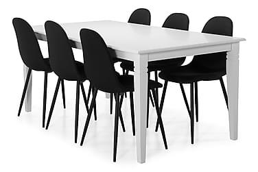 Hartford Spisebord med 6 Nibe stoler
