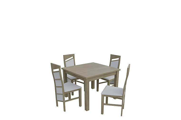 Itis Spisegruppe - Eik - Møbler - Spisegrupper - Rektangulær spisegruppe