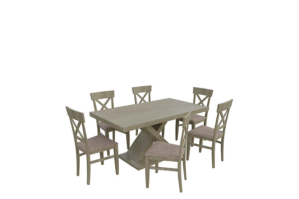 Kadja Spisegruppe - Eik - Møbler - Spisegrupper - Rektangulær spisegruppe