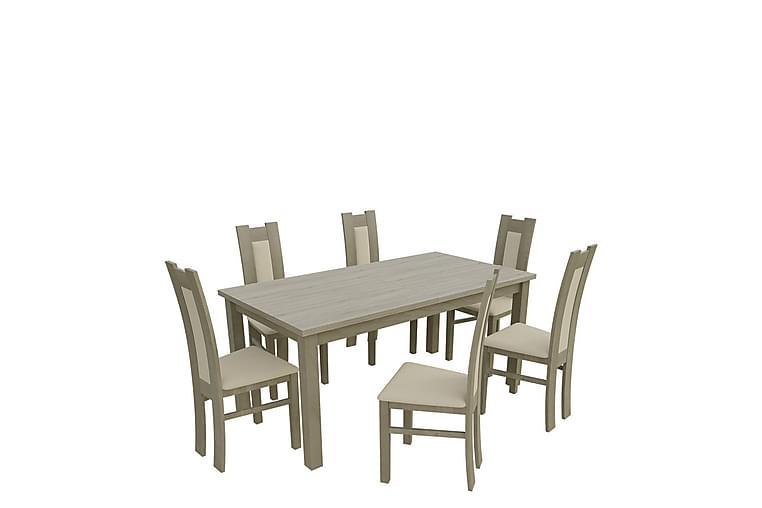 Kumo Spisegruppe - Eik - Møbler - Spisegrupper - Rektangulær spisegruppe