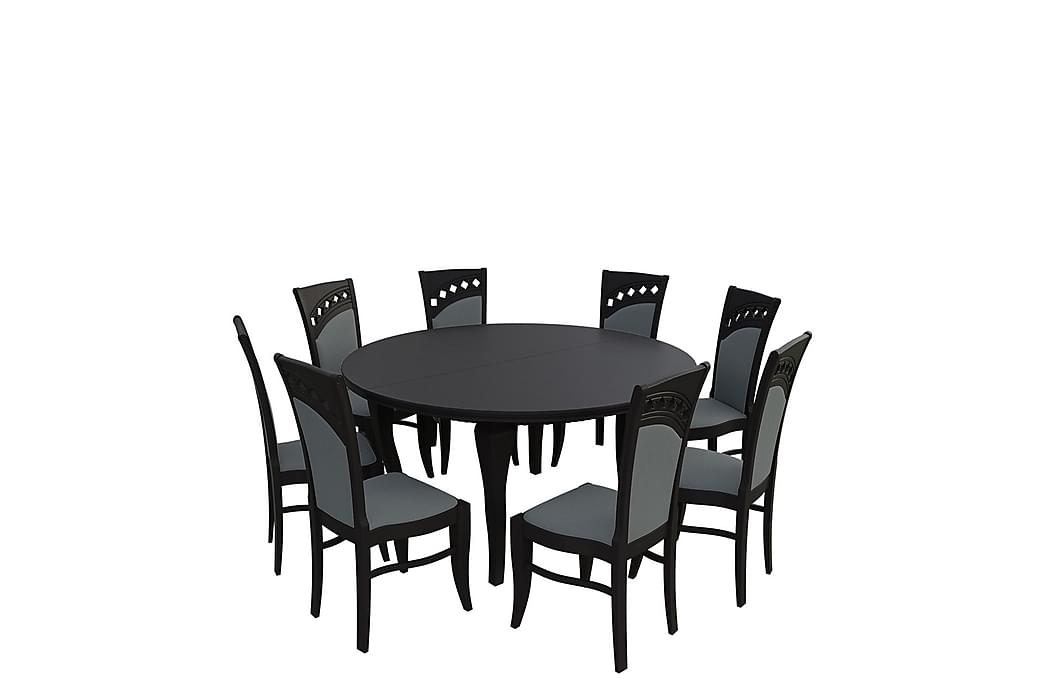 Letala Spisegruppe - Wenge - Møbler - Spisegrupper - Rektangulær spisegruppe