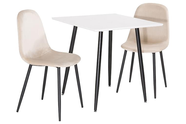 Pontus matbord med Pontus stol 2 stk - Møbler - Spisegrupper - Rektangulær spisegruppe
