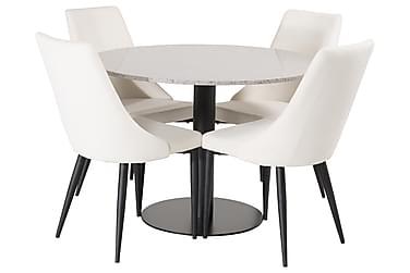 Runa Spisebord med 4 Ludde Stoler