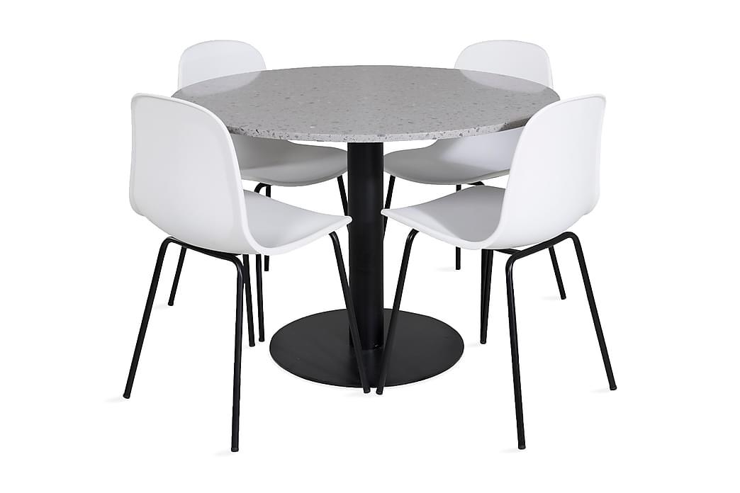 Valera Spisebord 106 cm med 4 Kullersbro Spisestoler - Møbler - Spisegrupper - Rektangulær spisegruppe