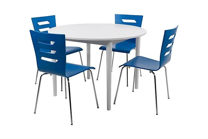 Circum Spisegruppe med 4 Melosh Stol - Møbler - Spisegrupper - Rektangulær spisegruppe