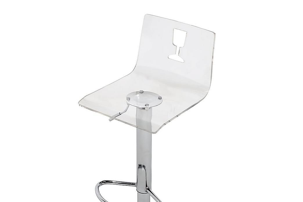 Busan Barstol 38 cm - Transparent - Møbler - Stoler - Barstoler