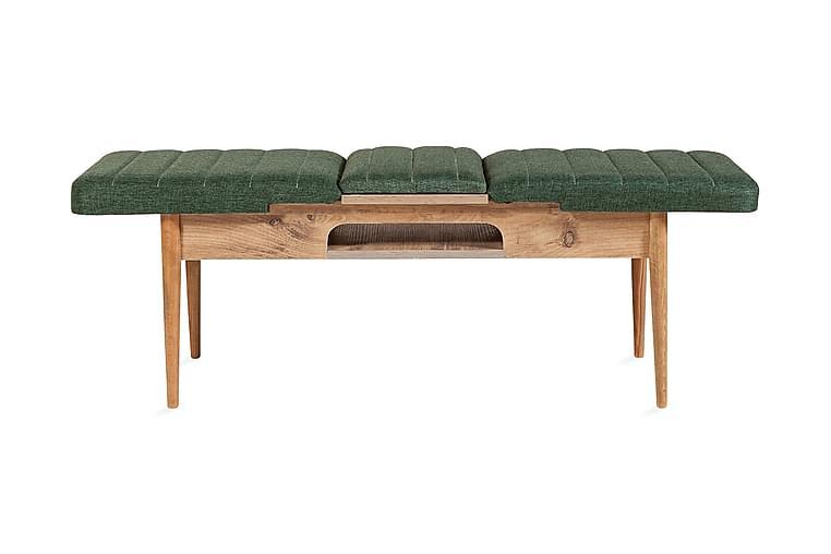 Corralez benk 51 cm - Tre / Natur / Grønn - Innredning - Små møbler - Benk