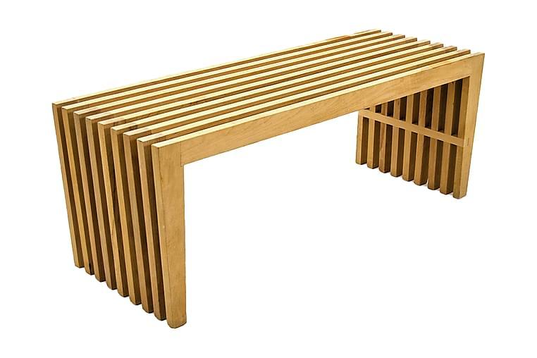 Massiv Design Sittebenk Ribbet - Innredning - Små møbler - Benk