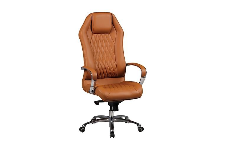 Bjorseth Kontorstol - Karamell - Møbler - Stoler - Kontorstol & skrivebordsstol
