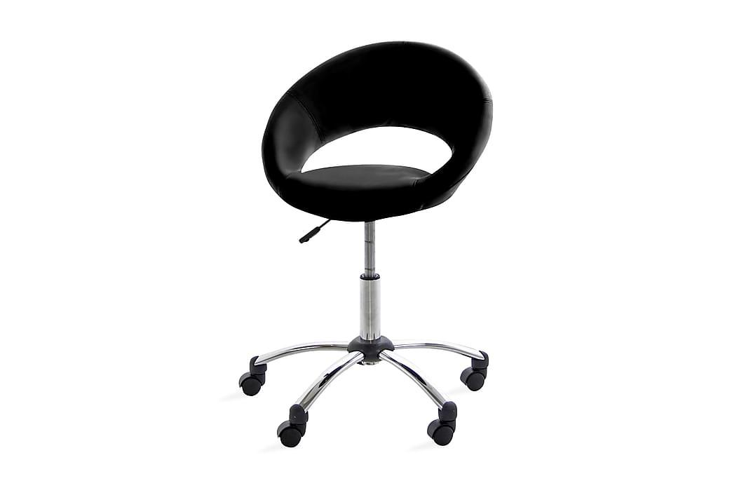 Freddy Kontorstol - Svart PU - Møbler - Stoler - Kontorstol & skrivebordsstol