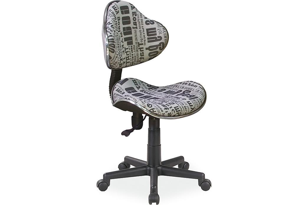 Kohlsville Kontorstol Justerbar - Blå - Møbler - Stoler - Kontorstol & skrivebordsstol