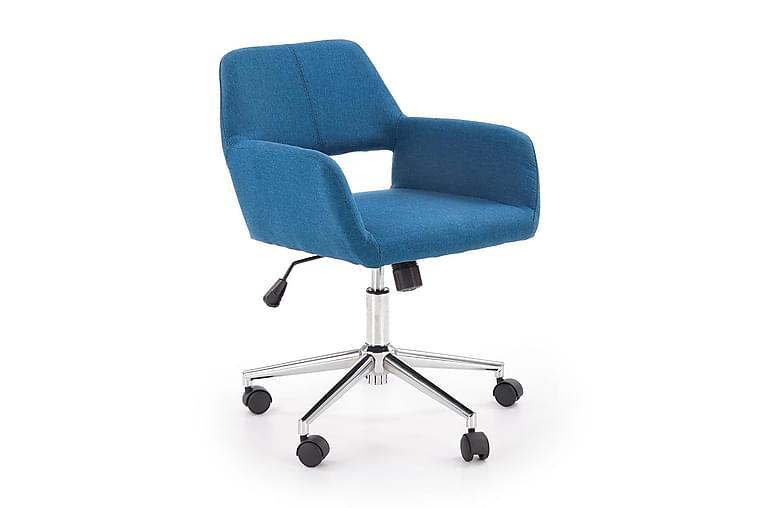 Morel Skrivebord 55 cm - Blå - Møbler - Stoler - Kontorstol & skrivebordsstol